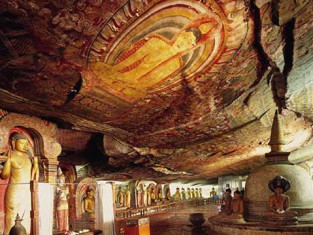 Temple d'Or de Dambulla - Sri Lanka