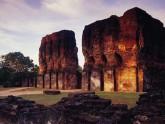 Vestiges palais Polonnaruwa - Sri Lanka