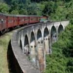 Excursion en train au Sri Lanka