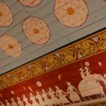 Plafond à Kandy, Sri Lanka