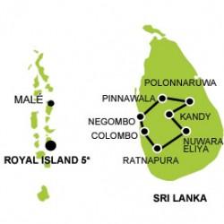 Sri Lanka - Maldives tout confort