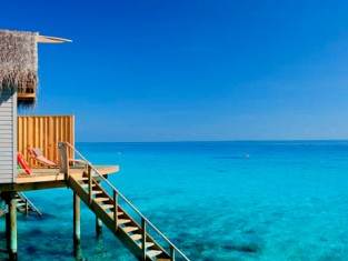 Bungalow Hôtel Centara Ras Fushi - Maldives