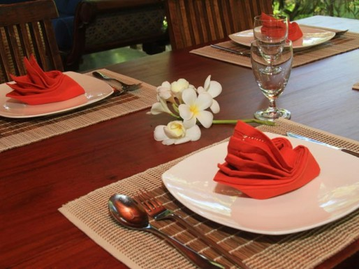 Table villa Araliya
