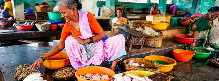 Marché aux poissons Jaffna